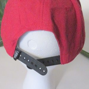 Carbon Elements Accessories - SWAG Red Cotton Hat Adjustable Snap Back NWOT